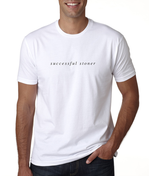 The New Amsterdam Successful Stoner Tee - White